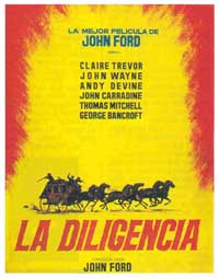 Stagecoach - 11 x 17 Movie Poster - Spanish Style F