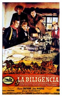 Stagecoach - 11 x 17 Movie Poster - Spanish Style G