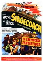 Stagecoach - 11 x 17 Movie Poster - French Style B