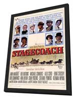 Stagecoach - 11 x 17 Movie Poster - Style A - in Deluxe Wood Frame