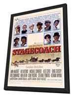 Stagecoach - 27 x 40 Movie Poster - Style A - in Deluxe Wood Frame