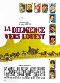 Stagecoach - 11 x 17 Movie Poster - French Style A