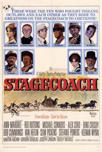 Stagecoach - 11 x 17 Movie Poster - Style A - Museum Wrapped Canvas