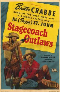 Stagecoach Outlaws - 27 x 40 Movie Poster