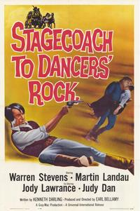 Stagecoach to Dancers Rock - 27 x 40 Movie Poster - Style A