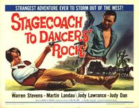 Stagecoach to Dancers Rock - 27 x 40 Movie Poster - Style B