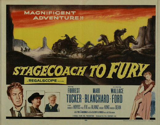Stagecoach to Fury movie
