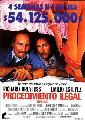 Stakeout - 11 x 17 Movie Poster - Spanish Style A