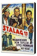 Stalag 17 - 27 x 40 Movie Poster - Style B - Museum Wrapped Canvas