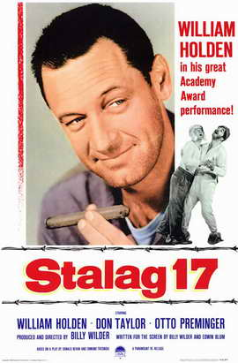 Stalag 17 - 11 x 17 Movie Poster - Style B