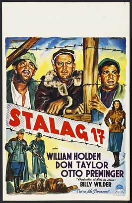 Stalag 17 - 27 x 40 Movie Poster - Belgian Style A