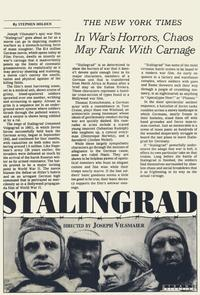 Stalingrad - 11 x 17 Movie Poster - Style A