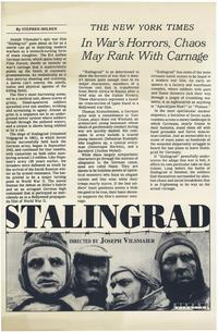 Stalingrad - 27 x 40 Movie Poster - Style A