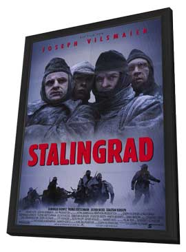 Stalingrad - 11 x 17 Movie Poster - German Style A - in Deluxe Wood Frame