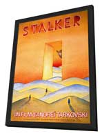 Stalker - 27 x 40 Movie Poster - French Style A - in Deluxe Wood Frame