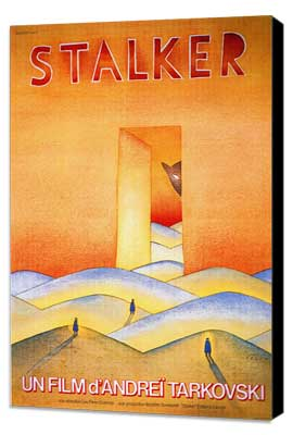 Stalker - 11 x 17 Movie Poster - French Style A - Museum Wrapped Canvas