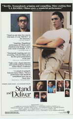 Stand and Deliver - 11 x 17 Movie Poster - Style B