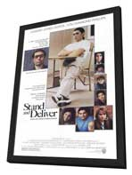 Stand and Deliver - 11 x 17 Movie Poster - Style A - in Deluxe Wood Frame