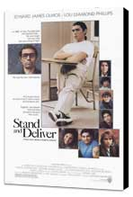 Stand and Deliver - 11 x 17 Movie Poster - Style A - Museum Wrapped Canvas