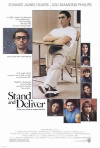 Stand and Deliver - 11 x 17 Movie Poster - Belgian Style A