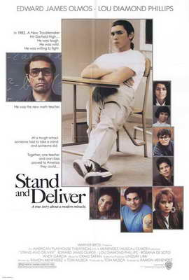 Stand and Deliver - 27 x 40 Movie Poster - Style A
