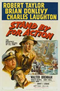 Stand by for Action - 11 x 17 Movie Poster - Style A