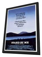 Stand by Me - 27 x 40 Movie Poster - Style B - in Deluxe Wood Frame