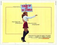 Stand Up and Be Counted - 22 x 28 Movie Poster - Half Sheet Style A