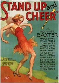Stand Up and Cheer - 43 x 62 Movie Poster - Bus Shelter Style A