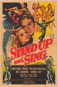 Stand up and Sing - 43 x 62 Movie Poster - Bus Shelter Style A