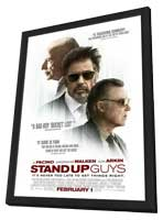 Stand Up Guys - 11 x 17 Movie Poster - Style B - in Deluxe Wood Frame