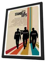 Stand Up Guys - 11 x 17 Movie Poster - Style C - in Deluxe Wood Frame
