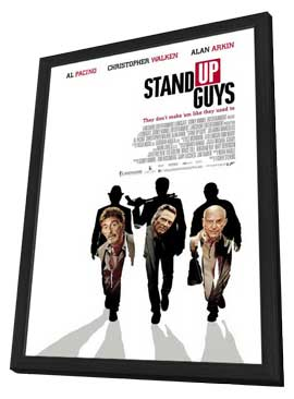 Stand Up Guys - 27 x 40 Movie Poster - Style A - in Deluxe Wood Frame