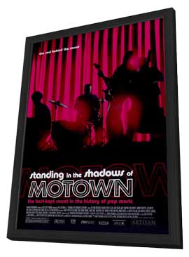 Standing in the Shadows of Motown - 27 x 40 Movie Poster - Style B - in Deluxe Wood Frame