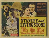 Stanley and Livingstone - 22 x 28 Movie Poster - Half Sheet Style A
