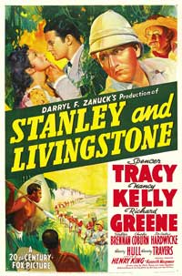 Stanley and Livingstone - 27 x 40 Movie Poster - Style B