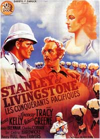 Stanley and Livingstone - 27 x 40 Movie Poster - French Style A
