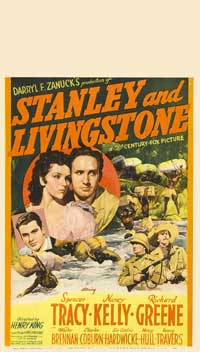 Stanley and Livingstone - 11 x 17 Movie Poster - Style D