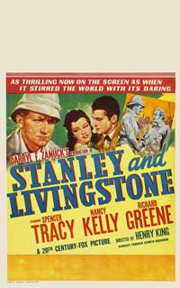 Stanley and Livingstone - 27 x 40 Movie Poster - Style C