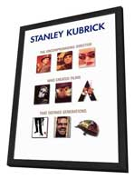 Stanley Kubrick - Promotion - 11 x 17 Movie Poster - Style A - in Deluxe Wood Frame