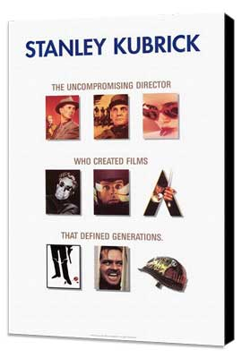 Stanley Kubrick - Promotion - 27 x 40 Movie Poster - Style A - Museum Wrapped Canvas