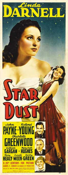 Star Dust - 14 x 36 Movie Poster - Insert Style A