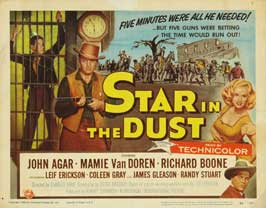Star in the Dust - 22 x 28 Movie Poster - Half Sheet Style A