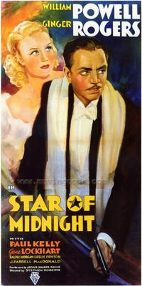Star of Midnight - 27 x 40 Movie Poster - Style A