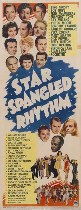 Star Spangled Rhythm - 14 x 36 Movie Poster - Insert Style A