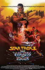 Star Trek 2: The Wrath of Khan - 11 x 17 Movie Poster - Style B