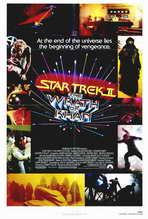 Star Trek 2: The Wrath of Khan - 27 x 40 Movie Poster - Style A