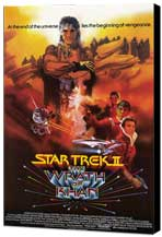 Star Trek 2: The Wrath of Khan - 11 x 17 Movie Poster - Style B - Museum Wrapped Canvas