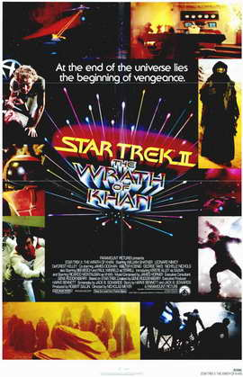 Star Trek 2: The Wrath of Khan - 11 x 17 Movie Poster - Style A