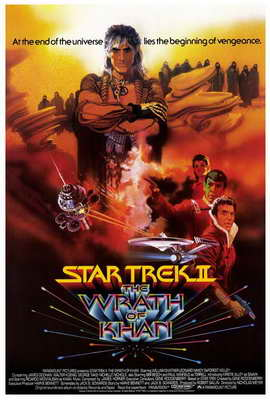 Star Trek 2: The Wrath of Khan - 27 x 40 Movie Poster - Style B